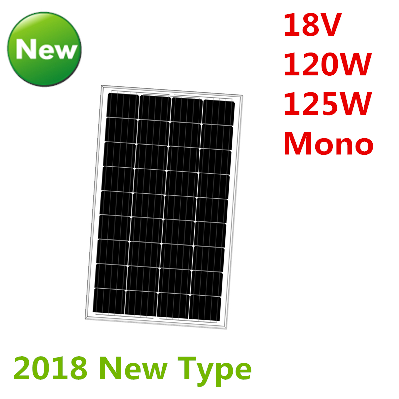 Mono 120w 125w 18v 18v 36pcs Shandong Green Sun Trade Co Ltd